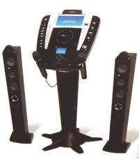cordless karaoke machine