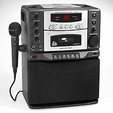 karaoke machine radio shack