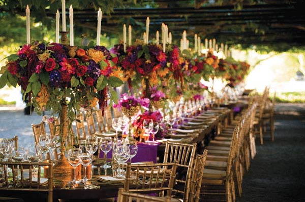 Western Table Centerpieces